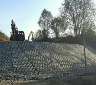 Center Pond Wetland Restoration - ACB Mats Done