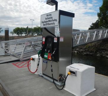 Port of Arlington Marine Fueling - Brand New Station