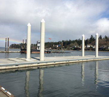 Swantown Marina Fuel Station - New Dock 4