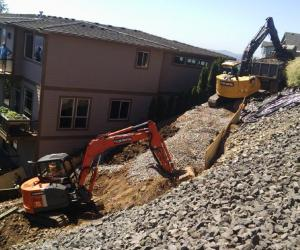 AEC Expertly Performs Slide Repair in Camas, WA