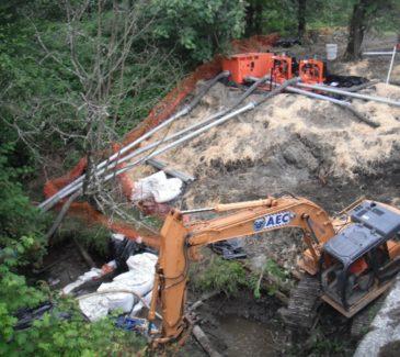 Careful Excavation Near Bypass