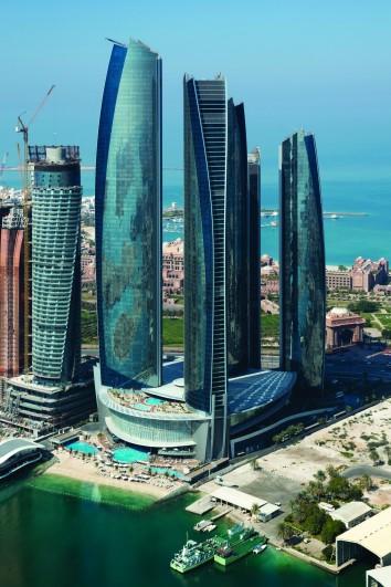 Etihad Towers Aecom