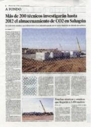 La información en prensa regional forma parte también de la comunicación del proyecto.