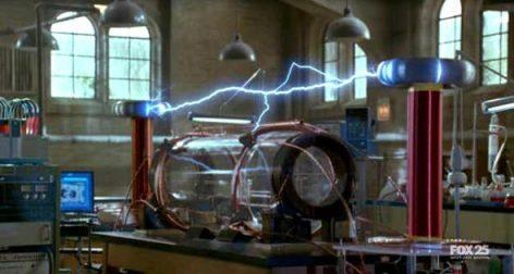 Uno de los experimentos en el laboratorio de Walter