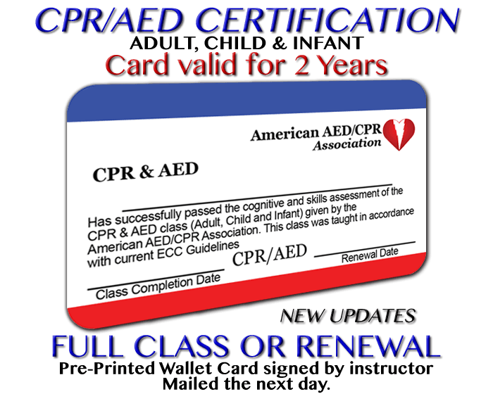 Aha Cpr Card Expiration Date Ziesite