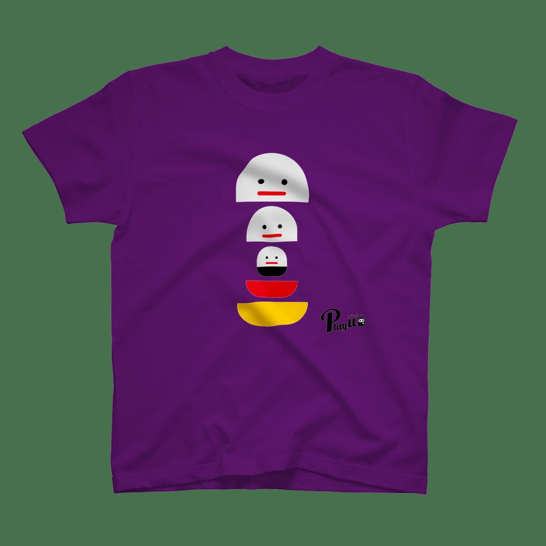 カプセルズ Tシャツ パープル