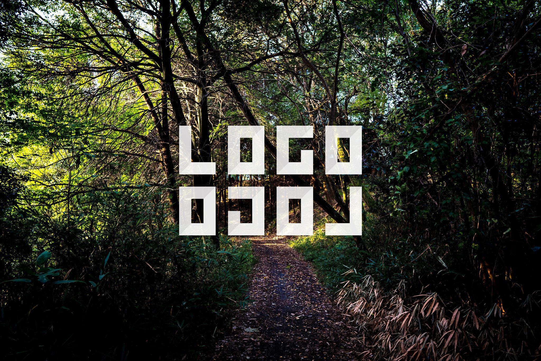 LOGLOGO「ロゴロゴ」用ビジュアル 岡山県倉敷市酒津の山