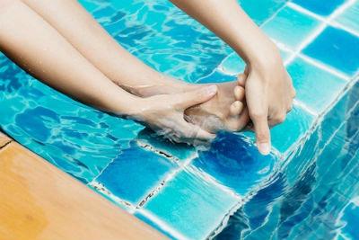 Calambres al nadar