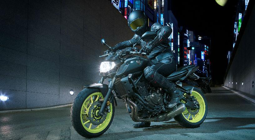 Modelo Yamaha MT-07 2018