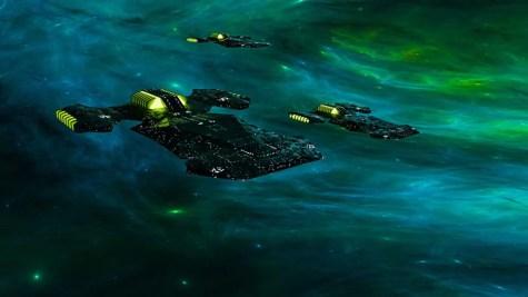 New Ships custom model and shaders