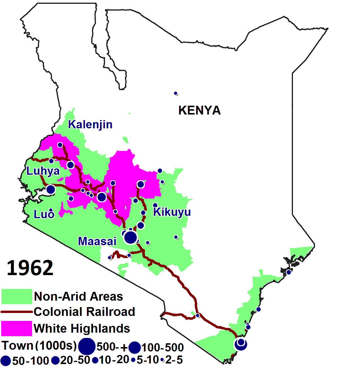 How Colonial Railroads Defined Africa S Economic Geography