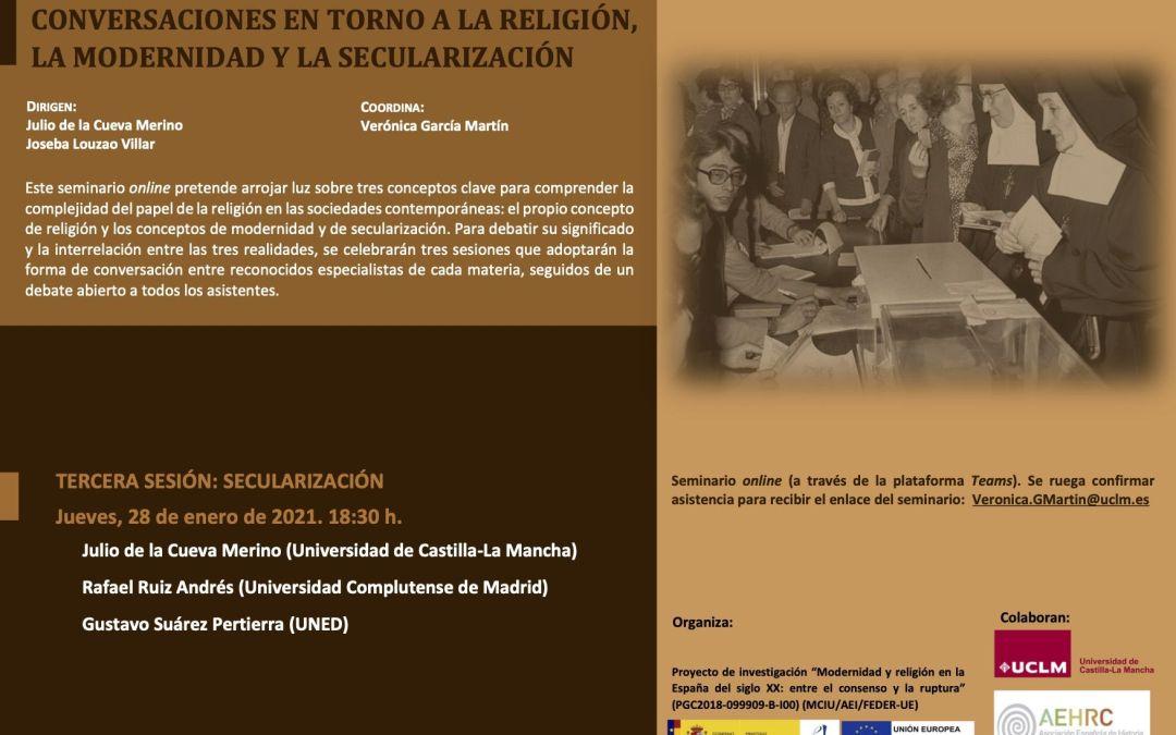 CONVERSACIONES EN TORNO A LA RELIGIÓN, LA MODERNIDAD Y LA SECULARIZACIÓN