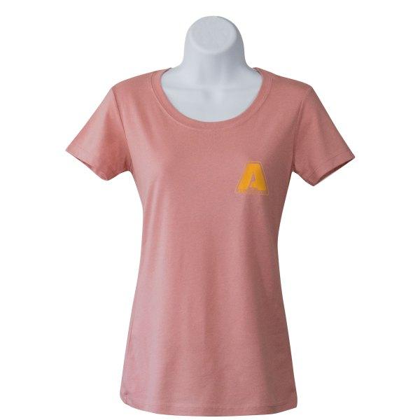 AEI Fabrication New Shiner Women's T-Shirt Desert Pink