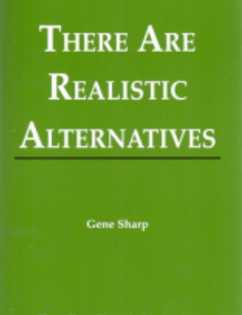 There Are Realistic Alternatives (English)