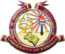 Logo of Kashmir University