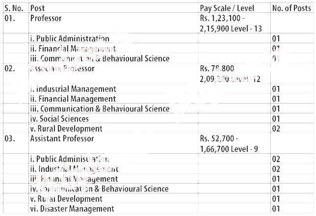 jkimpa J&K IMPARD, JK Institute of Management, Public Administration & Rural Development Recruitment