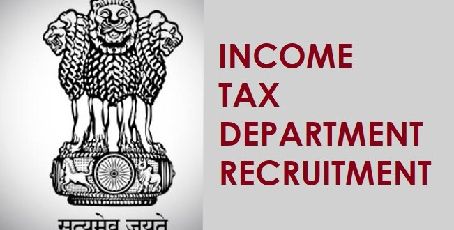 Income Tax Department (IT) Recruitment 2019