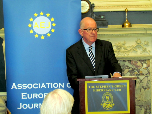 UKRAINE MOST DANGEROUS POLITICAL CRISIS IN EUROPE FOR SEVERAL DECADES, DFA MINISTER TELLS AEJ
