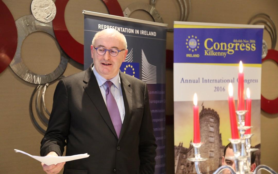 Brexit is defining political challenge: Phil Hogan