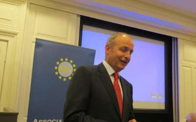 Micheál Martin TD on Government, Brexit and next election