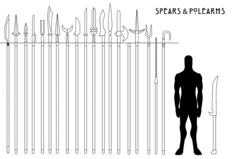 Spears & Polearms