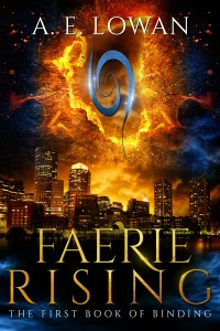 New cover for Faerie Rising: The First Book of Binding