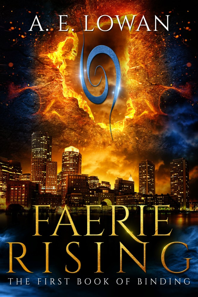 Cover reveal for Faerie Rising: The First Book of Binding