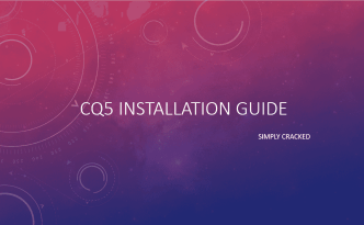 adobe cq5 installation guide aemcq5tutorials