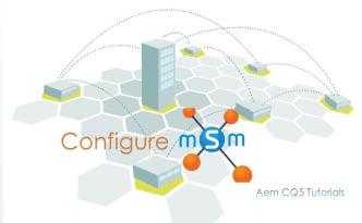 configure multi site manager msm aem cq5 tutorials