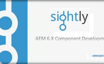 create Sightly Component in AEM