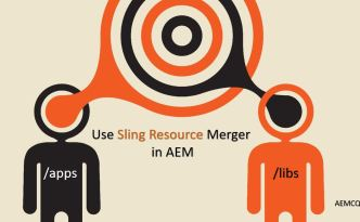 sling resource merger in aem