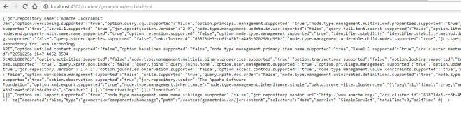 sling servlet register resourceType and selector