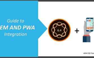integrate pwa with aem