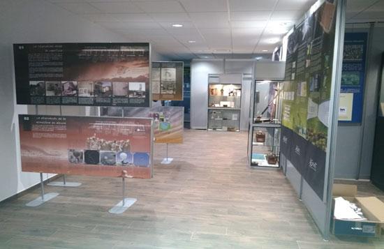 Una vista de la exposición