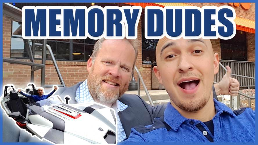 Memory Dudes in the Memory Mobile
