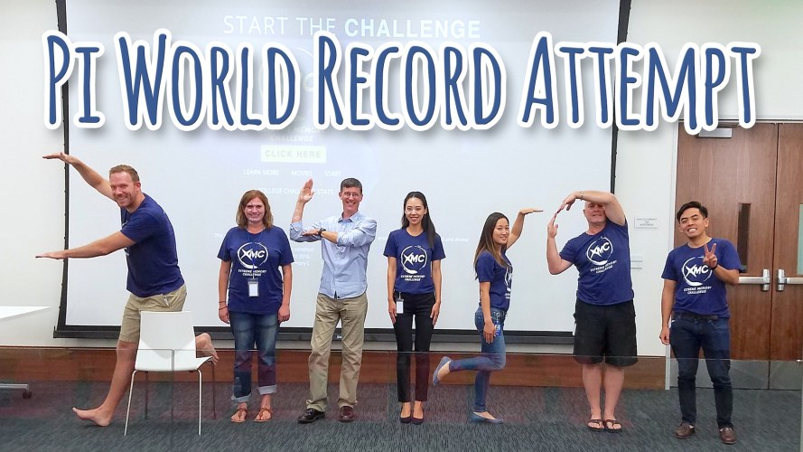 Pi World Record Attempt for Alzheimer's Day by Top USA Memory Athletes, Nelson Dellis and Brad Zupp