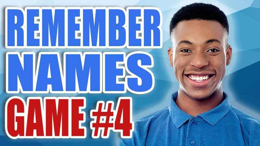 Remember Names Game 4
