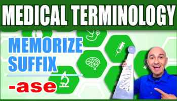 Ase Medical Term - Medical Terminology Suffix Single Word -min