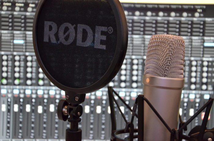 Studio d'enregistrement mobile