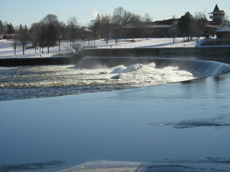 The Weir om February of 2007.