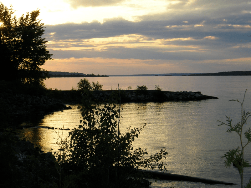 Sunset on the Ottawa River