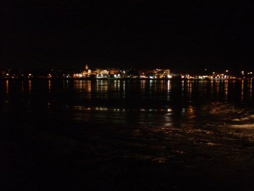 City lights & reflections