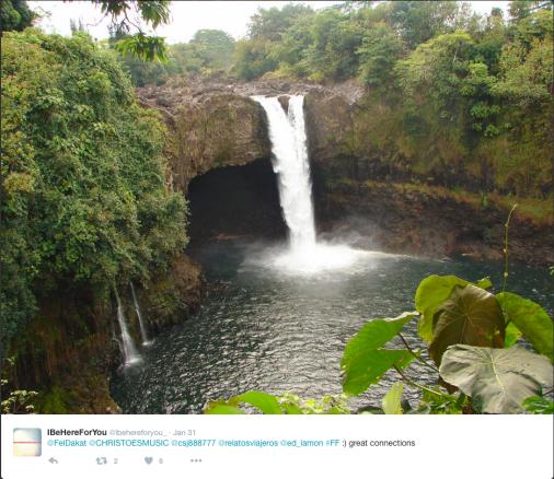 Very interesting waterfall.
