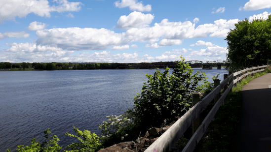 St John River, looking North and East.