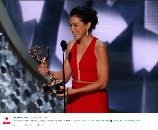 Tat gets an Emmy.