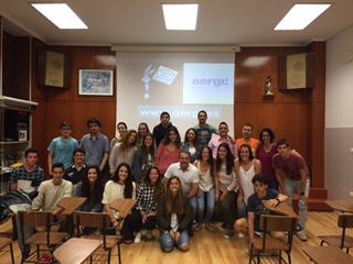 Aergi impartiendo Charlas de Prevención en Colegios de Donostialdea