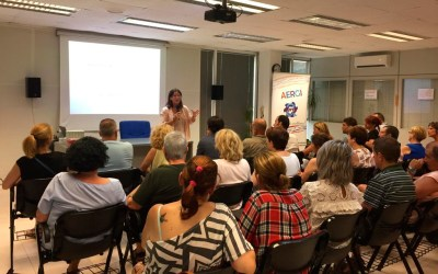 'Reseteo sexual', conferencia de Elisa García en Aergi