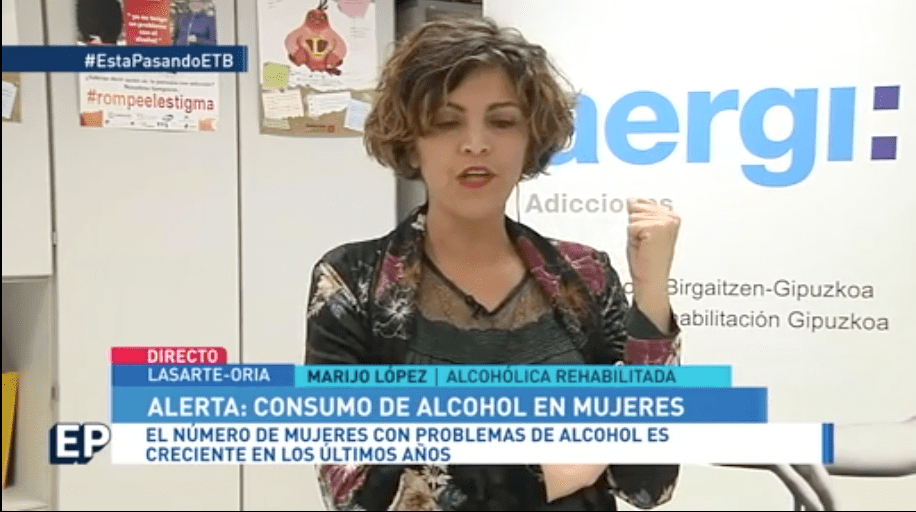 Mujer con alcoholismo, un perfil creciente