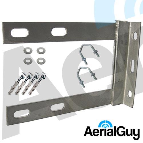 AerialGuy - 6x9 Galvanised Wall Bracket Kit