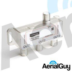 AerialGuy - Antiference 3 Way Indoor Splitter